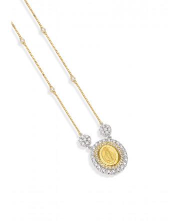 Medalha N. Sra das Graças Diamante Média